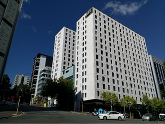AUT's new student accommodation 'open' but construction still ongoing