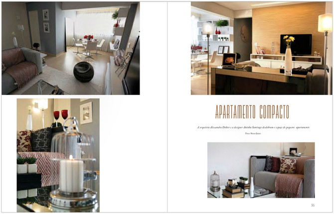 Revista Aphareport - apartamento  decorado