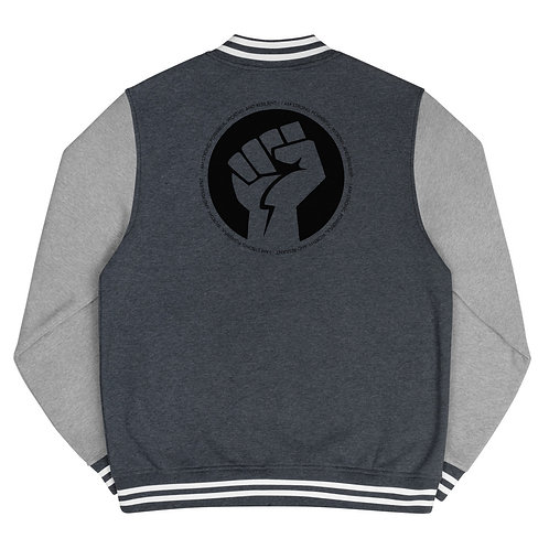 BLACK  POWER CIRCLE JACKET