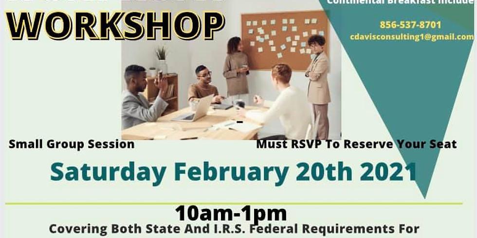 Start Your Non Profit Workshop