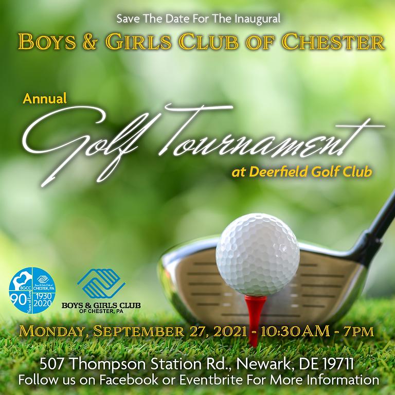 Inaugural Boys & Girls Club of Chester Annual Golf Tournament