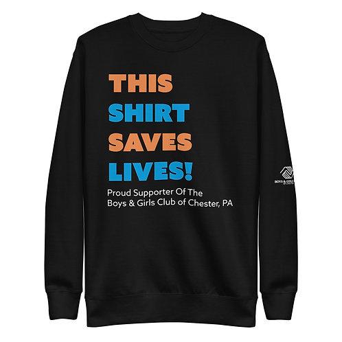 Shirt Saver Fleece Pullover