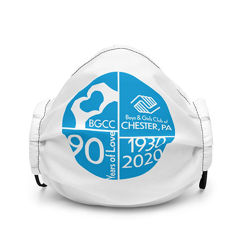 90 Years of Love Premium face mask