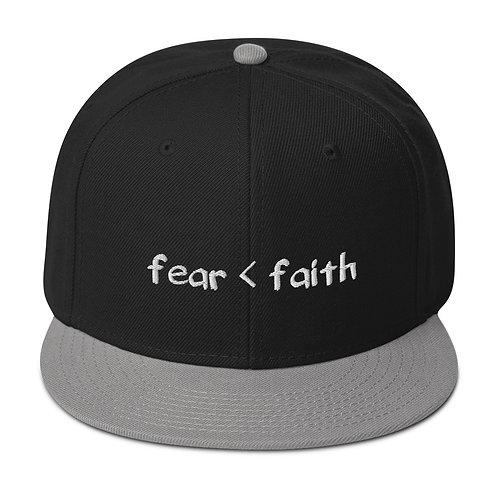 Faith Over Fear Snapback