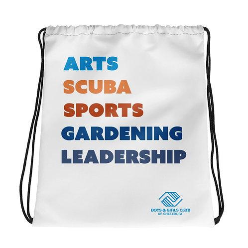 Welcome to BGCC Drawstring bag