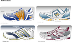 Running Shoe Upper Concepts