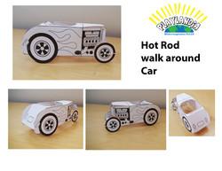 Hot Rod Scale Model Mock-up