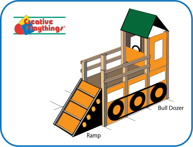 Bulldozer Play Structure