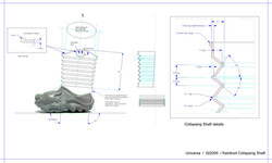 Rainboot Collapsible Shaft Technical