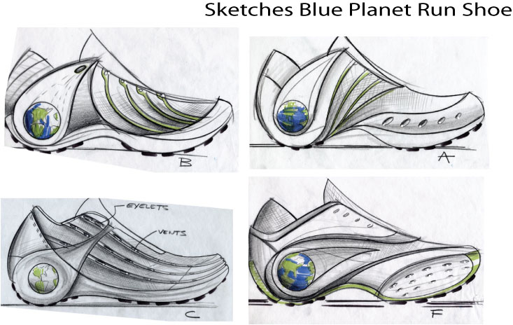 Shoe Concept Sketches