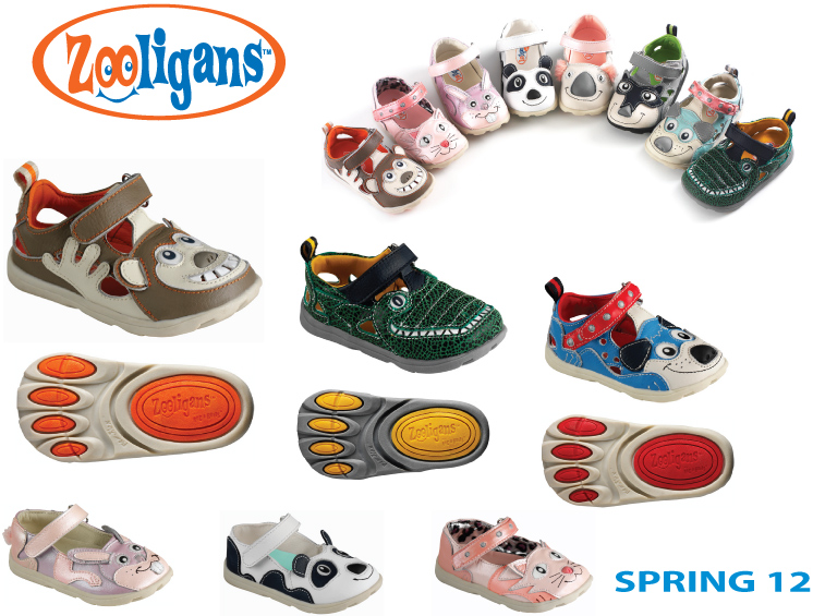 Zooligans Shoe Samples