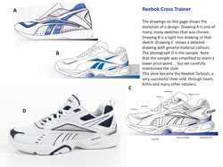 Reebok Training Concept and Sample