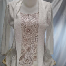 Tee Shirt effet veste A. Thiery Réf: 15321-1594-3