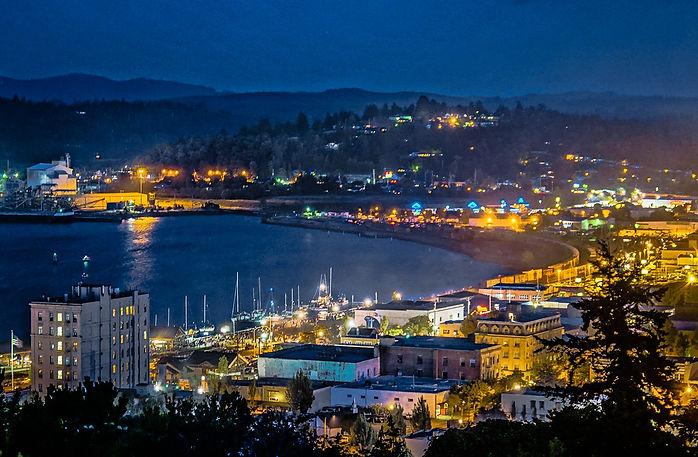 City of Coos Bay Evening.jpg