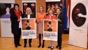 """Taina Bofferding soutient l'Orange Week 2019: """"Je dis NON à la violence à l'égard des filles et des"""
