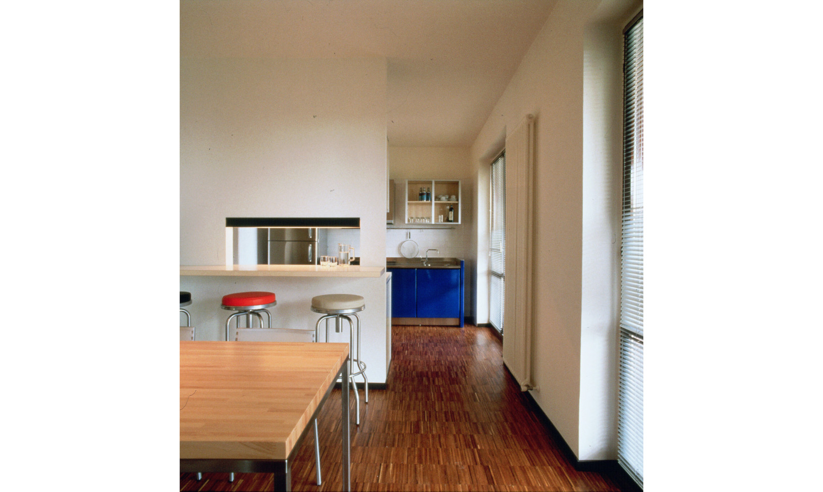 house M | dining and kitchen