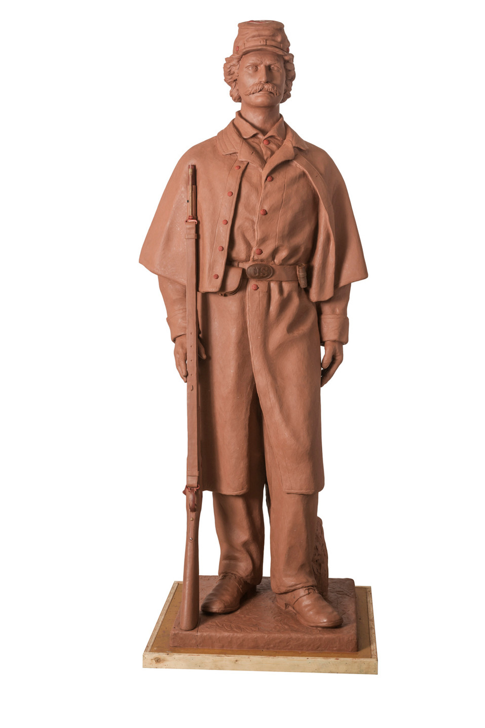 lifesize Civil War Soldier Rock Island Illinios dedication to be announced.