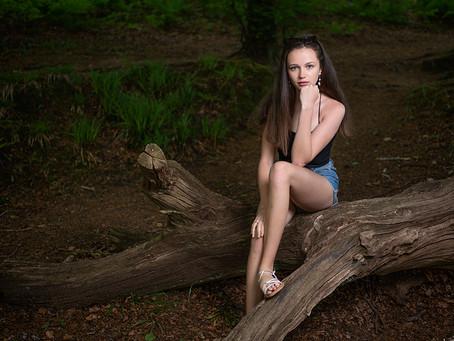 Golitha Falls Photoshoot with Lara Pearce...