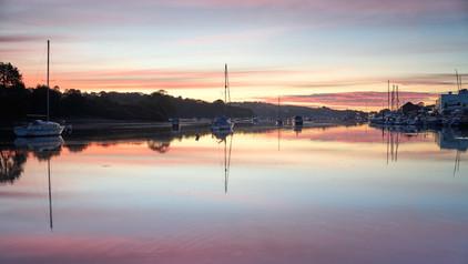 Sunrise at Penryn.