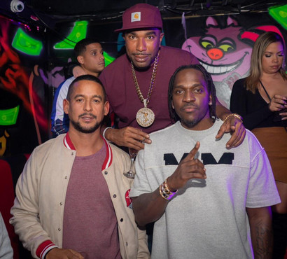 Noreaga & Pusha T hosted BT on the river