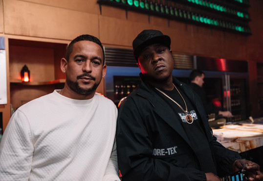 Jadakiss rocking w Mr Lee at one of our events