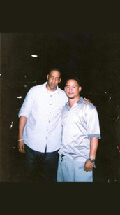 Jay Z, Mr Lee at the hit factory studio