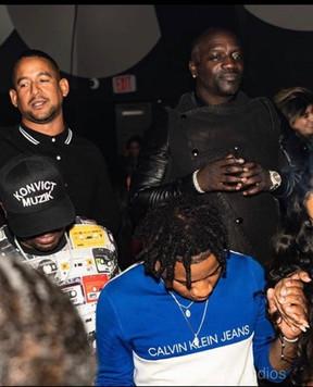 Akon hosted Club Liv