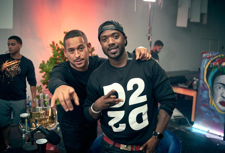 Ray J, & Mr Lee D. Champs  bts