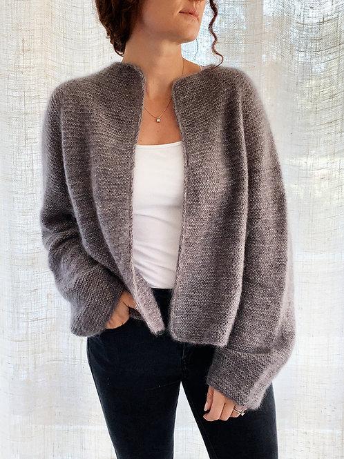 Harper Jacket Mohair Edition Knitting Pattern