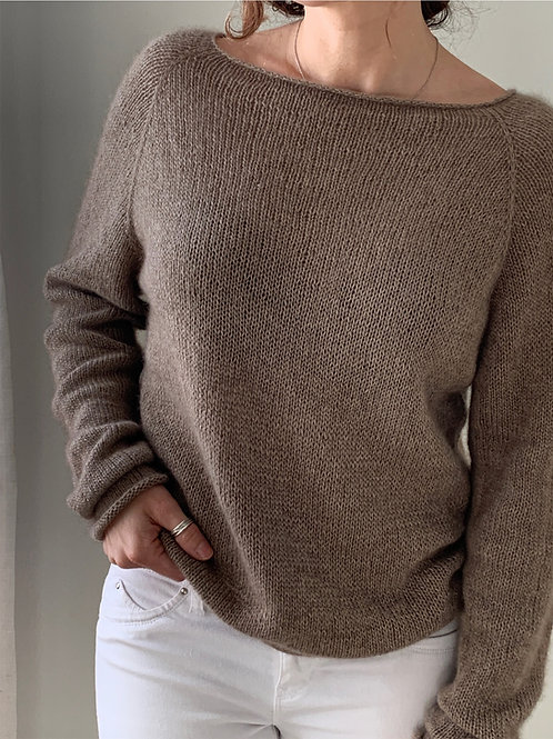 The Dentelle Douce Blouse Knitting Pattern