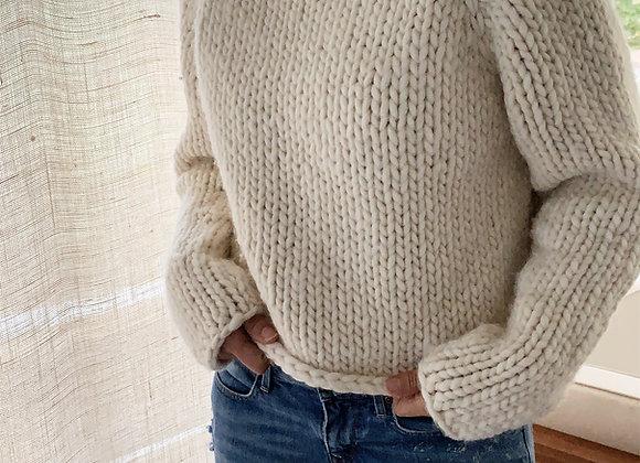 Beginner Friendly Top-Down Knitting Pattern Gallant Sweater