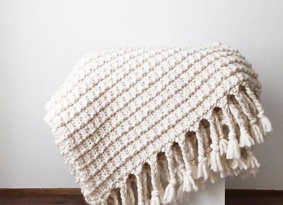 The Cumberland Blanket Knitting Pattern
