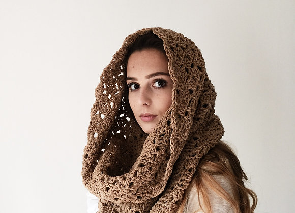 The Kensington Cowl Scarf Crochet Pattern