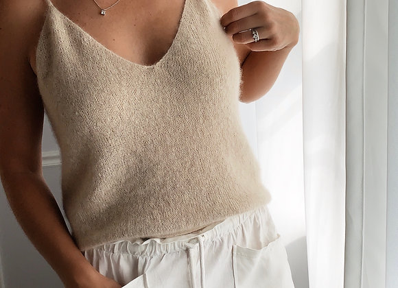 Allure Camisole Knitting Pattern
