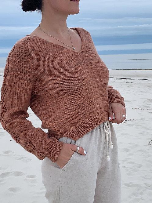 Nevermore Blouse Knitting Pattern