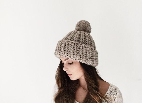 Icelander Beanie Hat Knitting Pattern