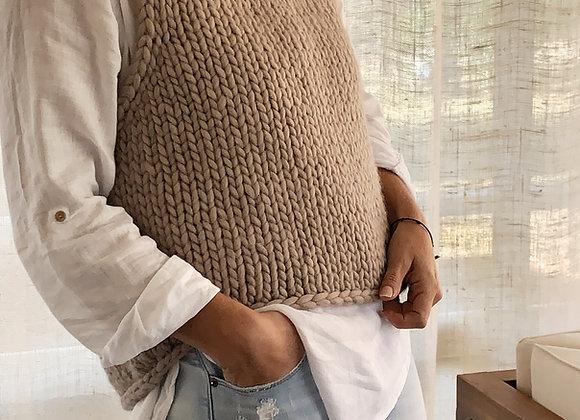 Abrazo Slipover Knitting pattern