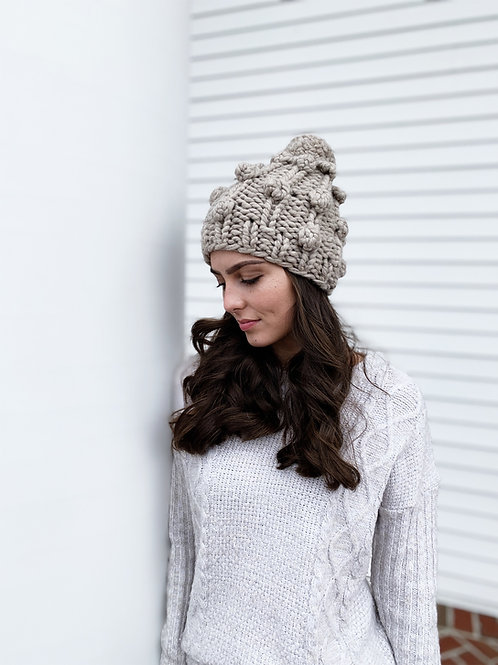 Zima Boble Hat Knitting Pattern