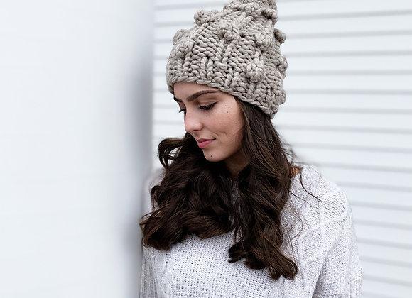 Zima Boble Hat Knitting Pattern