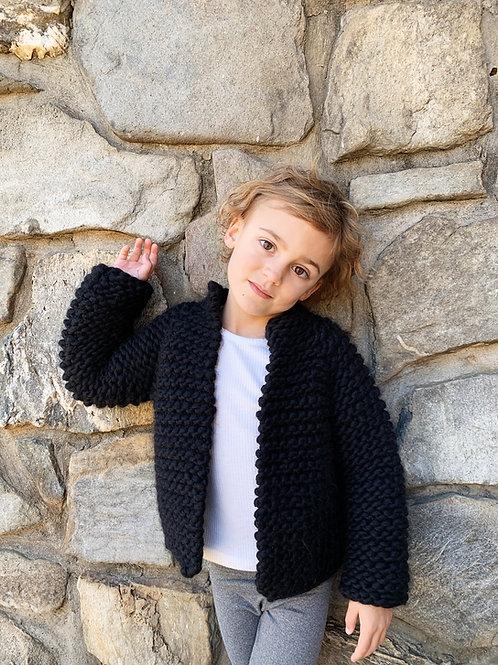 Harper Jacket Jr. Knitting Pattern