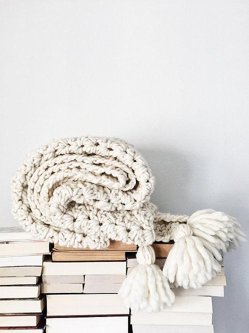 The Summit Blanket Crochet Pattern