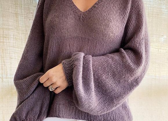 The Mollis Blouse Knitting Pattern