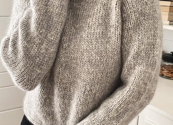Aran Gallant Sweater Knitting Pattern