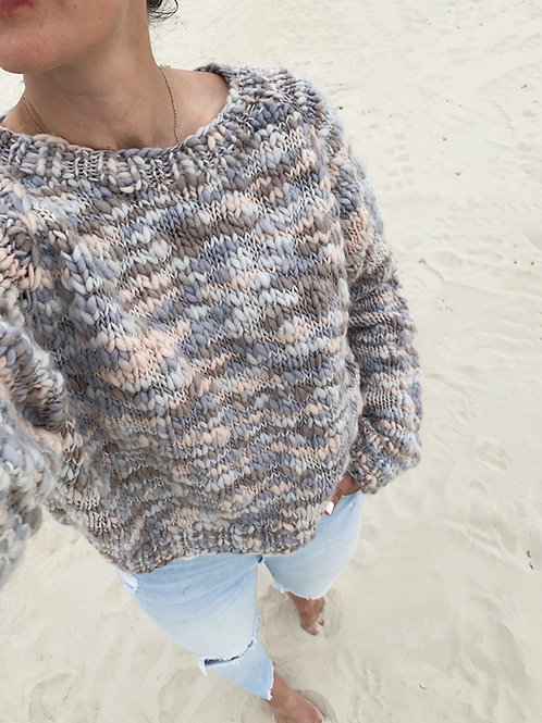 Comber Sweater Knitting Pattern