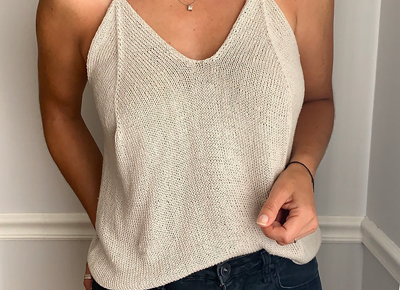 Svila Camisole Knitting Pattern