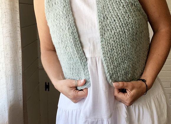 Maker Vest Knitting Pattern