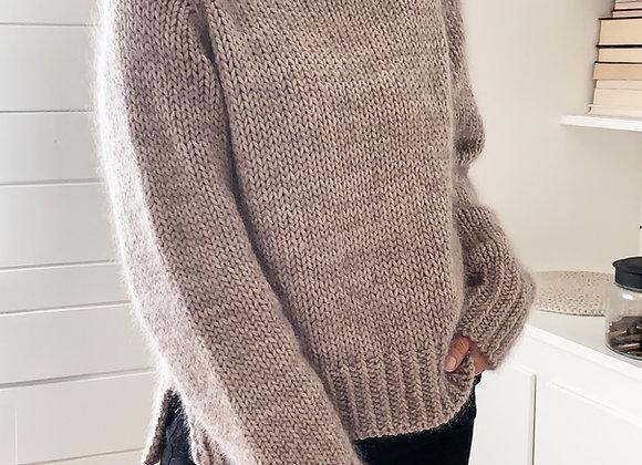 Gossamer Twist Sweater Beginner Friendly Knitting Pattern
