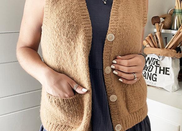 Livre Vest Knitting Pattern
