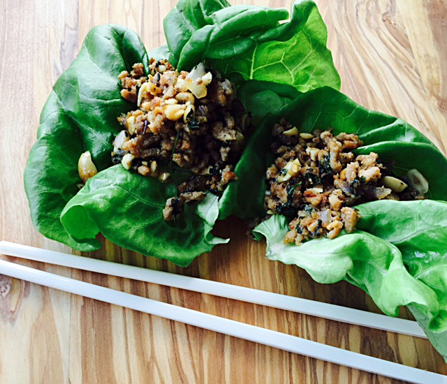 Asian Style Lettuce Cups