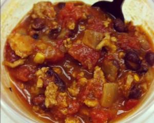 Turkey & Black Bean Chili